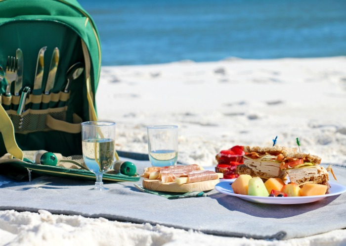 orange beach picnic spots